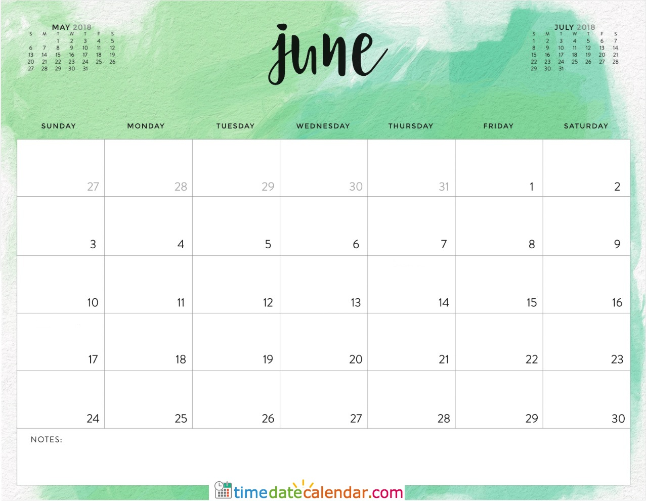 june 2018 calendar canada free printable templates. Black Bedroom Furniture Sets. Home Design Ideas