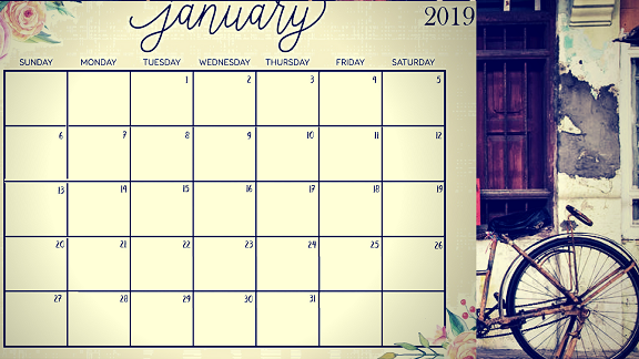 Image result for JANUARY 2019 CALENDAR TEMPLATES