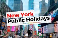 New York Public Holidays 2020