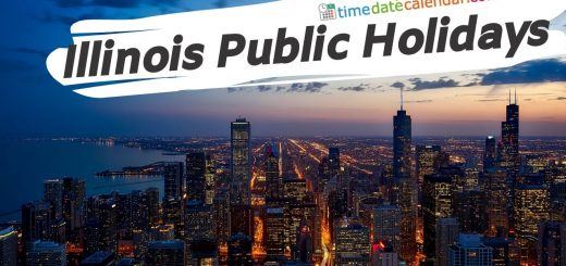illinois Publci Holidays 2020